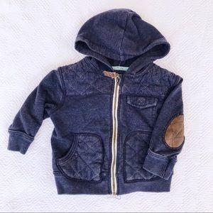 Genuine kids 12M sweatshirt zip up